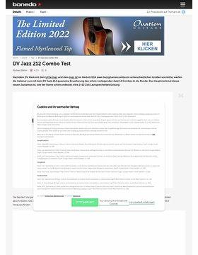 DV Jazz 212 Combo