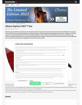 Gibson Explorer 2017 T HC