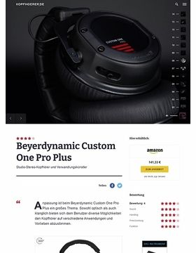 Beyerdynamic Custom One Pro Plus