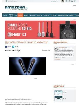 sE Electronics V3 und V7