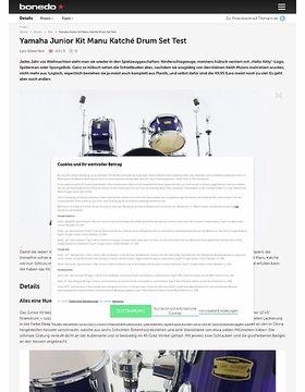 Yamaha Junior Kit Manu Katché Drum Set