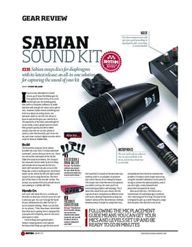Sabian Sound Kit