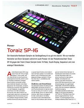 Pioneer Toraiz SP-16