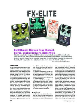 EarthQuaker Devices Gray Channel+Spires+Spatial Delivery+Night Wire