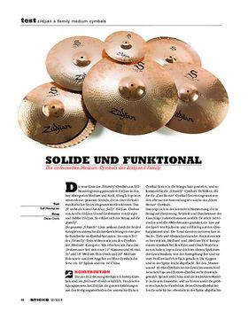 Zildjian S Family Medium Cymbals