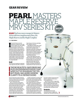 Pearl Masters Maple Reserve MRV Series Kit