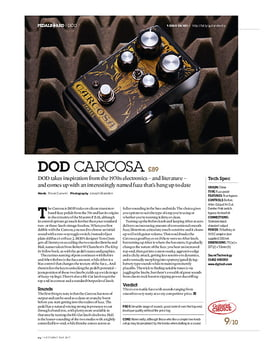 DOD Carcosa Fuzz