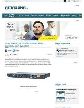 Rupert Neve Designs Shelford Channel