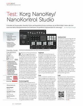 Korg NanoKey/ NanoKontrol Studio