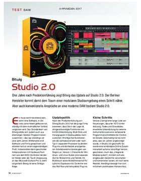 Bitwig Studio 2.0