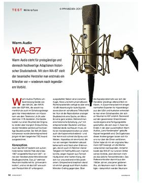Warm Audio WA-87