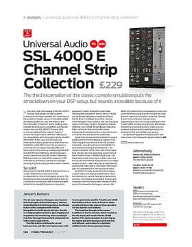 Universal Audio SSL 4000 E Channel Strip Collection