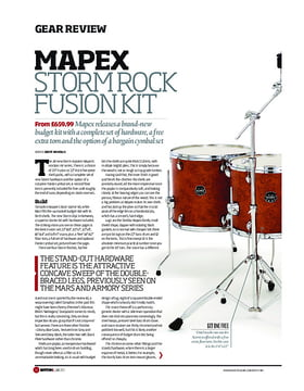 Mapex Storm Rock Fusion Kit