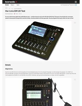 the t.mix DM 20