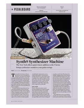 Synth9 Synthesizer Machine