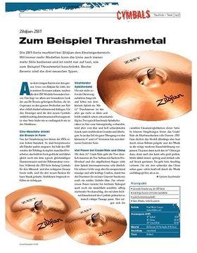 Instrumente & Technik: Zildjian ZBT