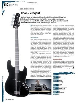 gear Bass - Fender Aerodyne Jazz Bass