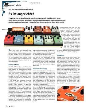 gear Effekte - T-Rex Effects Pedals & Tonetrunk Gigbag 68