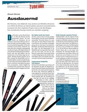 Instrumente & Technik: Ahead-Stöcke
