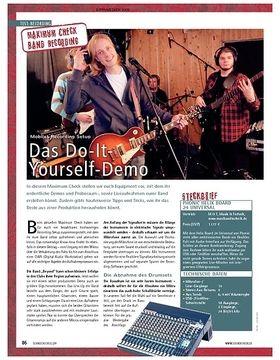 Maximum Check: Mobiles Recording Setup – Das Do-It-Yourself-Demo