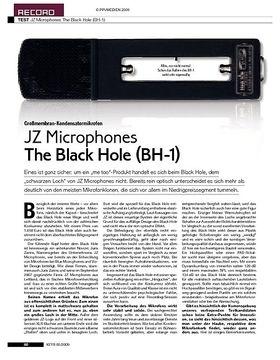 JZ Microphones The Black Hole (BH-1)