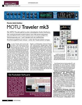 MOTU Traveler mk3