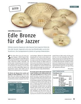 Test: Meinl Byzance Jazz