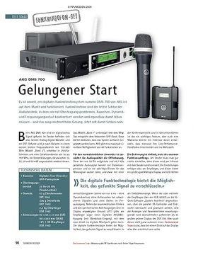 Test: AKG DMS 700 – Gelungener Start