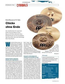 Instrumente & Technik: Meinl Byzance Hi-Hats