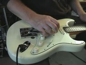 Steel Guitar Examples Clip 1 (close-up)