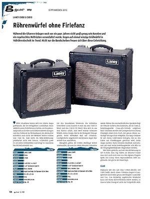 Guitar gear Amp - Laney CUB8 & CUB10