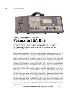 Sound & Recording Focusrite ISA One
