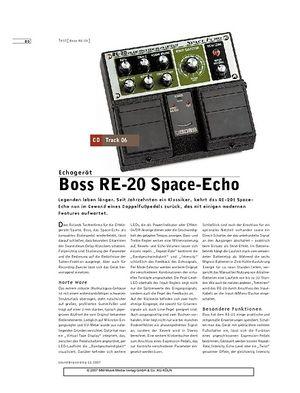 Sound & Recording Boss RE-20 Space-Echo