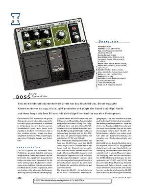 Gitarre & Bass Boss RE-20 Space-Echo, Gitarren-Effekt