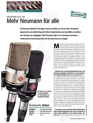 Recording Magazin