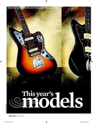 Guitarist Fender Classic Player Jaguar Special