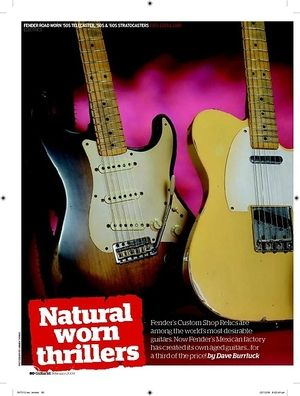 Guitarist Road Worn 60s Stratocaster