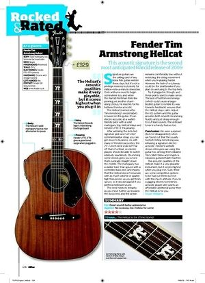 Total Guitar Fender Tim Armstrong Hellcat