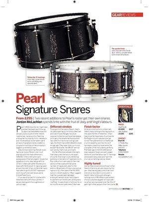 Rhythm Pearl Signature Snares