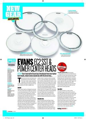 Rhythm EVANS EC2 SST and POWER CENTER HEADS
