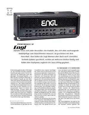 Gitarre & Bass Engl Powerball II