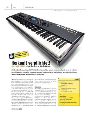 Keyboards Kurzweil PC3K8 - Synthesizer / Workstation
