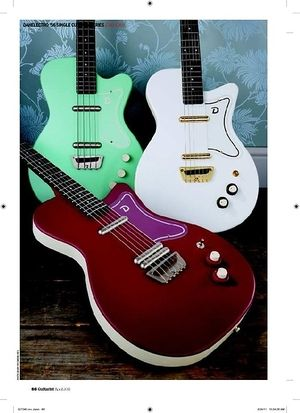 Guitarist Danelectro 56 Single Cutaway