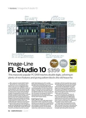 Computer Music Image-Line FL Studio 10