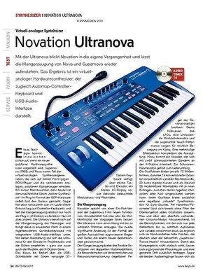 KEYS Novation Ultranova