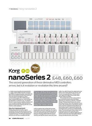 Computer Music Korg nanoKey Series 2