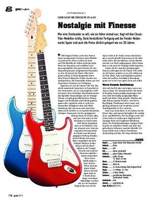 guitar gear E-Gitarre - Squier Classic Vibe Stratocaster 50s & 60s