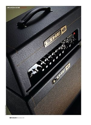Guitarist Line 6 DT25 Head and DT25 112 Extension Cab