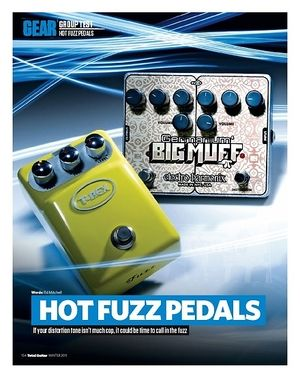 Total Guitar ELECTRO-HARMONIX GERMANIUM 4 BIG MUFF PI
