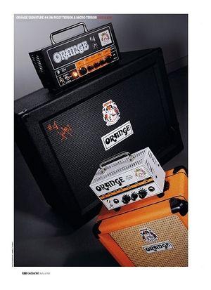 Guitarist Orange Signature #4 Jim Root Terror